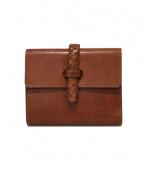 BUTTERO(ブッテロ)の古着「2つ折り財布」|ブラウン
