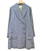 BEAMS BOY(ビームスボーイ)の古着「リネンコート」|グレー