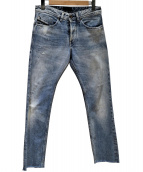 DIESEL BLACK GOLD(ディーゼル ブラック ゴールド)の古着「カットオフジーンズ」