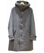 INHERIT(インヘリット)の古着「フーデッドコート」 グレー