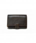 Felisi(フェリージ)の古着「コロコロ二つ折り型押し財布」|ブラウン