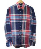 GITMAN BROS VINTAGE(ギットマンヴィンテージ)の古着「マドラスチェックシャツ」