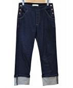 SEE BY CHLOE(シーバイクロエ)の古着「turn up hem jeans」