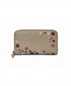 BOTTEGA VENETA(ボッテガヴェネタ)の古着「2つ折り財布」|ベージュ