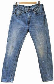 LEVIS VINTAGE CLOTHING(リーバイス ヴィンテージ クロージング)の古着「ウォッシュ加工復刻デニムパンツ」