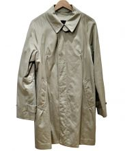 sage de cret(サージュ デクレ)の古着「ステンカラーコート」|ベージュ