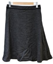 SONIA RYKIEL(ソニア リキエル)の古着「ウールフレアスカート」|グレー