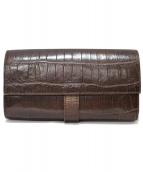 Felisi(フェリージ)の古着「型押しコロコロ長財布」|ブラウン