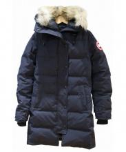 CANADA GOOSE(カナダグース)の古着「MACKENZIE PARKA」|ネイビー