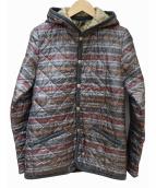 LAVENHAM(ラヴェンハム)の古着「フーデットキルティングジャケット」|グレー