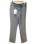 elephant blanc(エレファンブラン)の古着「ベルト付パンツ」