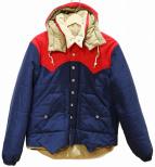 SUGAR CANE(シュガーケーン)の古着「パディングジャケット」|ネイビー×レッド