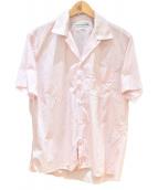 INDIVIDUALIZED SHIRTS(インディビジュアライズドシャツ)の古着「オープンカラーシャツ」|レッド