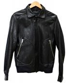 BARK TANNAGE(バークタンネイジ)の古着「ラムレザージャケット」