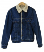 LEVIS VINTAGE CLOTHING(リーバイス ヴィンテージ クロージング)の古着「1970'S SHERPA LINED TRUCKER JA」|インディゴ