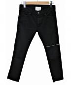 SUB-AGE.(サベージ)の古着「ラインパンツ」|ブラック