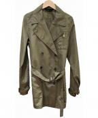 MOGA(モガ)の古着「ナイロントレンチコート」