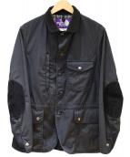 THE NORTHFACE PURPLELABEL(ザ・ノースフェイス パープルレーベル)の古着「65/35ベイベットクロスマウンテンジャケット」 ブラック