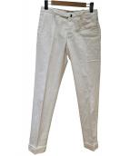 INCOTEX(インコテックス)の古着「ホワイトパンツ」