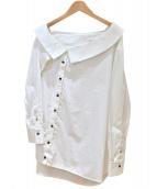 MONOGRAPHIE(モノグラフィー)の古着「アシンメトリーシャツ」