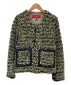 Coohem(コーヘン)の古着「ツイードジャケット」|ネイビー