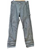 KOJIMA GENES(児島ジーンズ)の古着「HERRINGBONE BASIC PAINTER PANT」