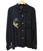 TAILOR TOYO(テーラートウヨウ)の古着「スカシャツ」