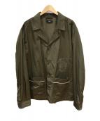DIESEL(ディーゼル)の古着「ナイロンジャケット」|オリーブ