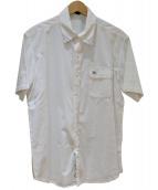 BURBERRY BLUE LABEL(バーバリーブルーレーベル)の古着「半袖シャツ」|ホワイト