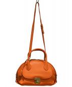 Salvatore Ferragamo(サルヴァトーレ フェラガモ)の古着「2WAYバッグ」|オレンジ