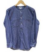 Engineered Garments(エンジニアードガーメン)の古着「IRVING SHIRT-DUNGAREE CLOTH」 ブルー