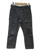 Engineered Garments(エンジニアードガーメン)の古着「ヘリンボーンファティーグパンツ」|グレー
