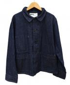 MHL.(エムエイチエル)の古着「カバーオール」|インディゴ