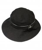 Vivienne Westwood(ヴィヴィアンウエストウッド)の古着「リネンハット」 ブラック
