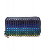 Christian Louboutin(クリスチャンルブタン)の古着「ラウンドジップスタッヅ長財布」