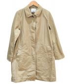 BEAUTY&YOUTH(ビューティアンドユース)の古着「SOUTIEN COLLAR COAT」|ベージュ