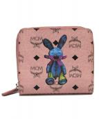 MCM(エムシーエム)の古着「2つ折り財布」|ピンク