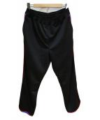 BEAMS(ビームス)の古着「サイドラインパンツ」|ブラック×ネイビー