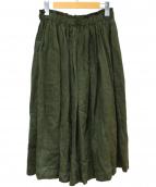 Lisette(リゼッタ)の古着「リネンスカート」 カーキ