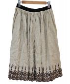 Lisette(リゼッタ)の古着「リネンスカート」 ベージュ
