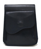 革蛸謹製(カワタコキンセイ)の古着「2つ折り財布」|ネイビー