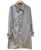 STUDIOUS(ステュディオス)の古着「LIMONTAナイロンシャツステンカラーコート」|グレー