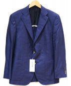 mila schon(ミラ ショーン)の古着「カシミアシルク2Bジャケット」 ネイビー