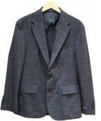 POLO RALPH LAUREN(ポロ ラルフローレン)の古着「ウールリネンジャケット」 グレー