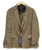 POLO RALPH LAUREN(ポロ ラルフローレン)の古着「リネンジャケット」 ブラウン