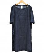 S Max Mara(エス マックスマーラ)の古着「ビジュー付デニムワンピース」|インディゴ