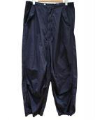 BEAMS BOY(ビームスボーイ)の古着「US ARMYオーバー パンツ」|ネイビー