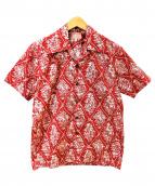 THE REAL McCOYS(リアルマッコイズ)の古着「カウボーイ柄アロハシャツ」|レッド