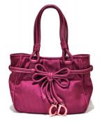 Christian Dior(クリスチャン ディオール)の古着「トロッタートートバッグ」|ピンク