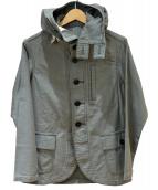 Pherrows(フェローズ)の古着「Gunner Smock Parka Jacket」|セージグリーン